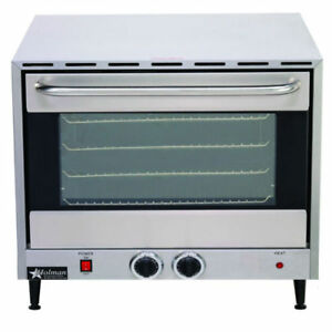 New Star Holman Ccoh 4 Countertop Electric Half size Convection Oven