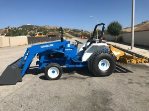 New Holland 2120 4x4 With Loaders Pto One Have 250 Hours And One With 273 Doc