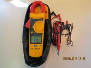 Fluke 902 True Rms Hvac Clamp Meter In Excellent Condition this Is Not Fc Model