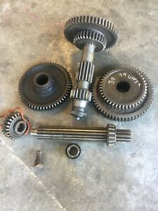 1941 9n Ford Tractor 3 Speed Transmission Gears Straight Cut