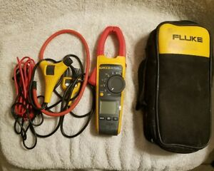 Fluke 376 True Rms Clamp Meter With Leads And Case