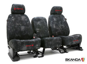 Kryptek Typhon Camo Neosupreme Front Rear Custom Seat Covers For Toyota Tacoma