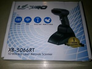 Ls pro 1d Wireless Laser Barcode Scanner With Cradle 2 4g Model Xb5066rt