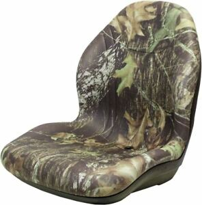 John Deere Skid Steer Camo Bucket Seat Fits 240 250 315 328 332 Ct315 Etc