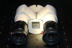 Zeiss F 125 Surgical Microscope Opmi Slit Lamp Binocular With 12 5 X Lenses