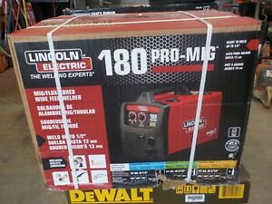 Lincoln Electric K2515 1 Pro mig 180 Mig flux Cored Wire Feed Welder