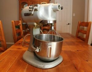 Vintage Working Hobart N50 Commercial Mixer With Bowl Whisk Attachment