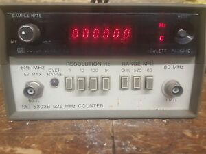 Hewlett Packard 5303b Frequency Counter