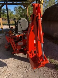 Kubota Bx25d 2017 W Backhoe loader And Mower Low Hours And Running Perfect