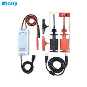 Micsig Oscilloscope 5600v 100mhz High Voltage Differential Probe Kit 3 5ns Rise
