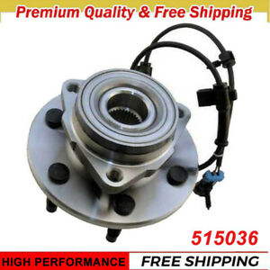Moog Complete Front Wheel Hub And Bearing Assembly For Gmc Chevy Truck 4x4 6 Lug