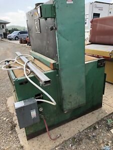 37 Timesaver Model 50 37 Wide Belt Sander Single Head