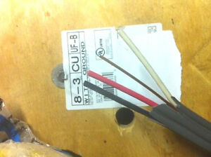 8 3 W grnd Uf b Outdoor Direct Burial Electrical Wire 80 Ft all Lenghts