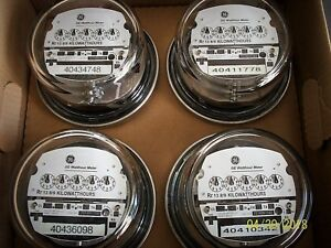 General Electric I 70 s 200 Amp 240 Volt Meter Box Of 4