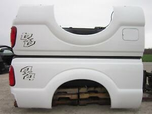 1 Ford Super Duty F250 6 5 Shortbed Truck Bed 99 16 White Short Box 6 9 Nto