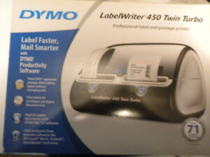 Dymo Labelwriter 450 Twin Turbo Label Thermal Printer Rarely Used