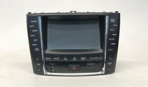2010 2012 Lexus Is250 Is350 Sedan Navigation Display Computer 86805 53240