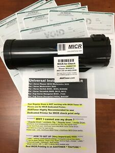 Micr Toner Cartridge For Xerox 106r02720 Phaser 3610 Wc 3615 5 900 Pages