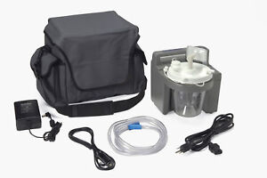 7305 Series Homecare Suction Unit With External Filter Battery And Carrying Ca