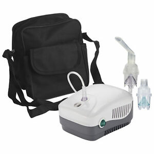 Medneb Plus Compressor Nebulizer With Carry Bag And Disposable And Reusable Neb