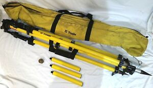 Trimble Survey Tripod Extension Poles And Carrying Case