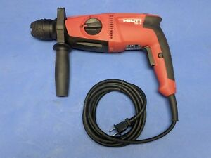 Hilti Te 2 120 volt Sds plus Rotary Hammer Drill With Handle