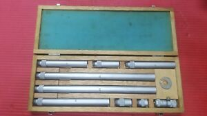 Fowler Japan Made Inside Micrometer Range 2 To 40 Inch machinist Tools