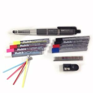 Pentel Super Multi 8 Set Ballpoint Pen Mechanical Pencil Ph803st F s
