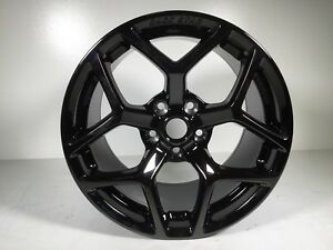 2005 18 Mustang Race Star Recluse Wheel Black
