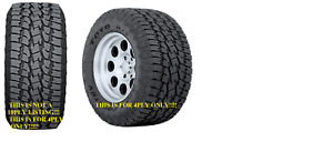 New 285 70r17 Toyo Open Country A T Ii All Terrain 4ply 285 70 17 2857017 Bl