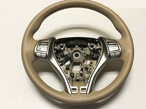 2015 Nissan Altima Oem Steering Wheel With Control