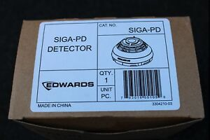 New Edwards Siga pd Fire Alarm Smoke Detector Siga pd Protection Equipment