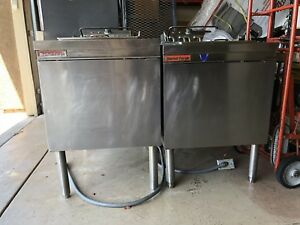Market Forge Wells Deep Fryer Commercial F1016 Frymaster Pitco Henry Penny