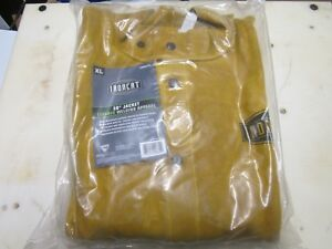 Ironcat 7005 Xl X large 30 Leather Welding Jacket