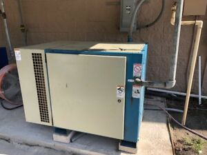 Quincy Qmb 25 Industrial Rotary Screw Air Compressor