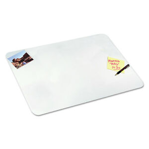 Artistic Clear Desk Pad With Microban 19 X 24 Plastic