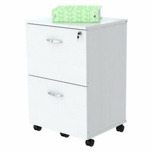 Inval Mobile 2 drawer File Cabinet