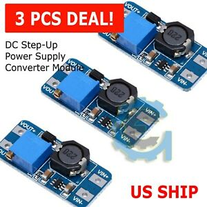 5x Dc dc Digital Display Step Up Boost Board Converter Power Module