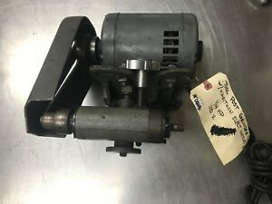 Lathe Tool Post Grinder Appears To Be A South Bend One 25hp Marathon 115 Volt