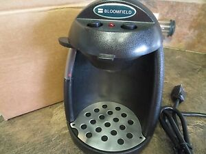 4 Bloomfield Commercial Pod1 Coffee Maker Gourmet Automatic New Motel Hotel Trav