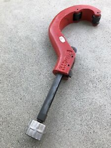 Reed Tool tc4qa quick Release Tubing Cutter For Plastic Pipe 1 7 8 To 4 1 2