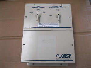 Best Power External Transfer Switch Bpe 02 mbb 1a 300 Volts 40 Amps Phase 1
