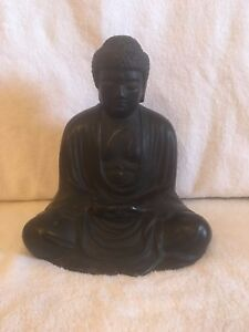 Large 19th Century Japanese Bronze Buddha Amitabha