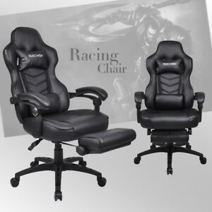 Ergonomic Office Gaming Chair High Back Recliner Computer Desk Task Racing Style
