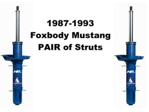 1987 1993 Mustang Gt V8 Pair Of Tokico Blue Struts Hp Series For Front