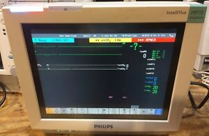 Philips Mp70 Patient Monitor With M3001a Module Gc Guaranteed Anesthesia Sw