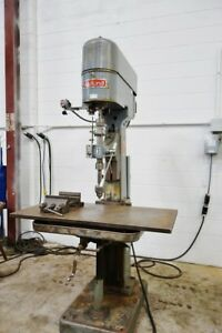 Edlund Drill Press Edlund Tapping Machine Drill tap Clausing