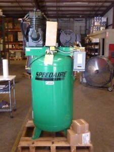 New Speedaire 35wc45 Vertical Air Compressor 80 Gallon 5hp 208 230 460v