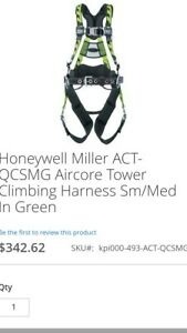 Tower Climbing Harness