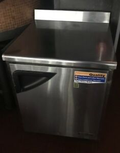 Turbo Air Twr 28d 1 door Worktop Refrigerator 120v